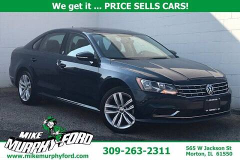 2019 Volkswagen Passat for sale at Mike Murphy Ford in Morton IL