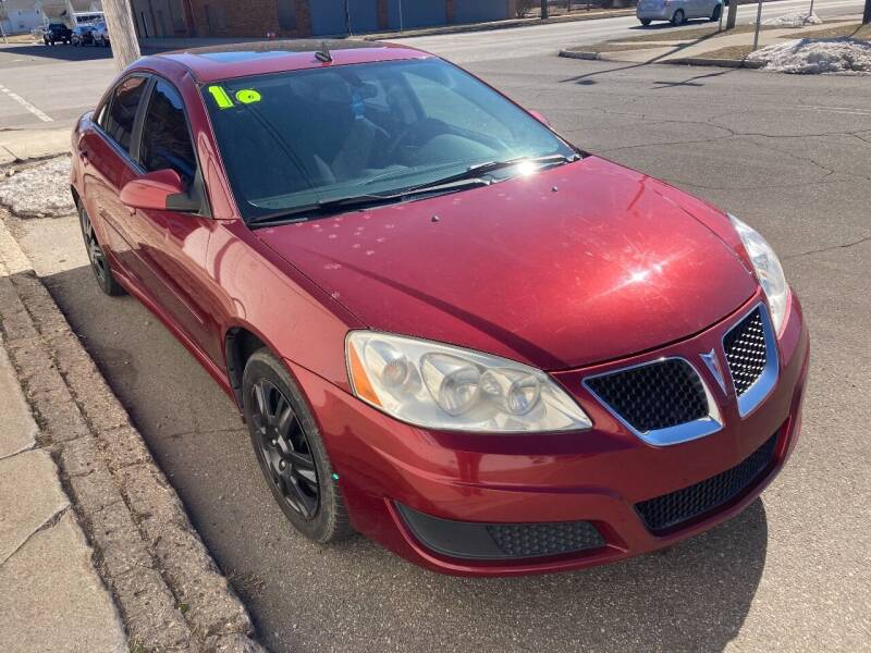 2010 Pontiac G6 for sale at Two Rivers Auto Sales Corp. in South Bend IN