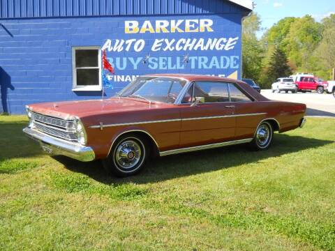 1966 Ford Galaxie 500 for sale at BARKER AUTO EXCHANGE in Spencer IN