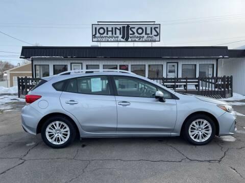 2018 Subaru Impreza for sale at John Solis Automotive Village in Idaho Falls ID