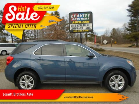 2012 Chevrolet Equinox for sale at Leavitt Brothers Auto in Hooksett NH