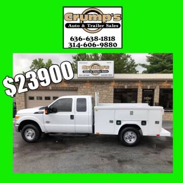 2016 Ford F-250 Super Duty for sale at CRUMP'S AUTO & TRAILER SALES in Crystal City MO