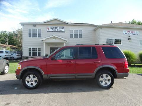 2003 Ford Explorer for sale at SOUTHERN SELECT AUTO SALES in Medina OH