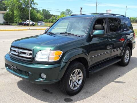 2003 Toyota Sequoia for sale at GLOBAL AUTOMOTIVE in Grayslake IL