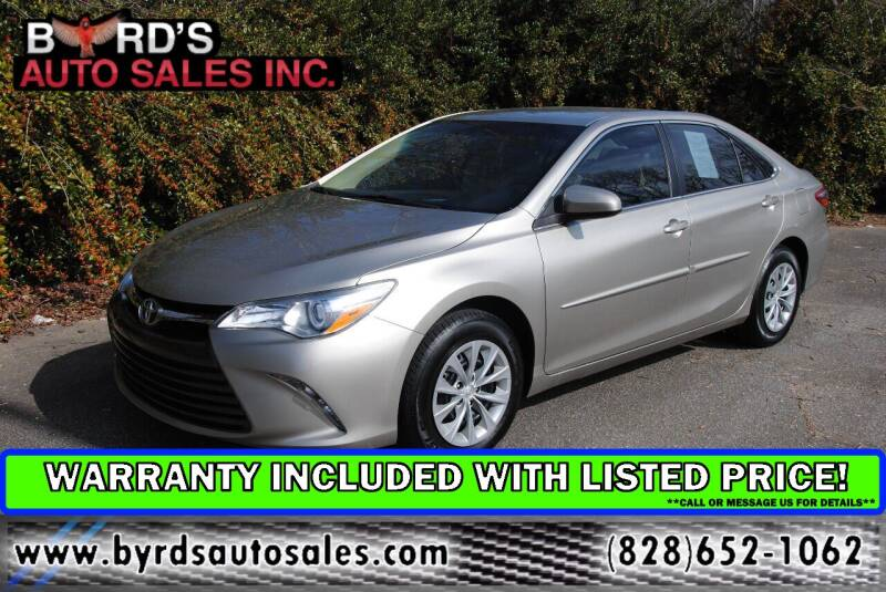 2015 Toyota Camry for sale at Byrds Auto Sales in Marion NC