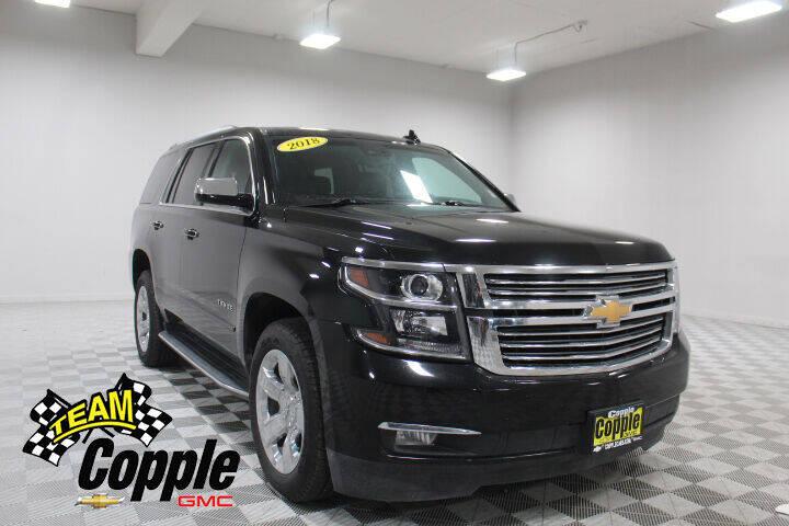 2018 Chevrolet Tahoe for sale at Copple Chevrolet GMC Inc in Louisville NE