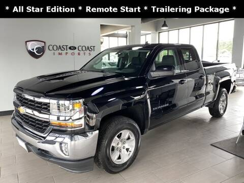 2018 Chevrolet Silverado 1500 for sale at Coast to Coast Imports in Fishers IN