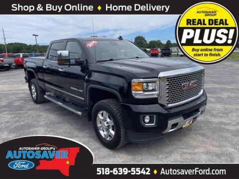 2016 GMC Sierra 3500HD for sale at Autosaver Ford in Comstock NY