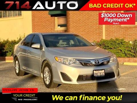 2014 Toyota Camry for sale at 714 Auto in Orange CA