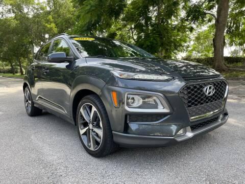 2018 Hyundai Kona for sale at DELRAY AUTO MALL in Delray Beach FL