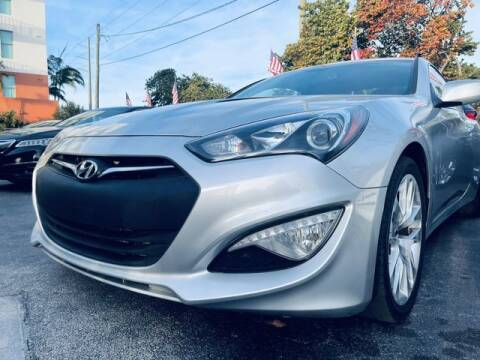 2014 Hyundai Genesis Coupe for sale at Meru Motors in Hollywood FL