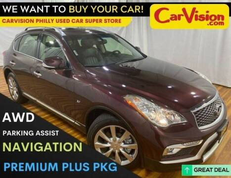 2017 Infiniti QX50 for sale at Car Vision Mitsubishi Norristown - Car Vision Philly Used Car SuperStore in Philadelphia PA