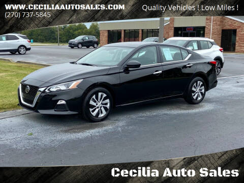 2020 Nissan Altima for sale at Cecilia Auto Sales in Elizabethtown KY