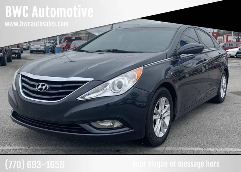 2013 Hyundai Sonata for sale at BWC Automotive in Kennesaw GA