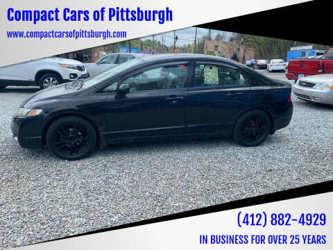 2009 Honda Civic for sale at Compact Cars of Pittsburgh in Pittsburgh PA