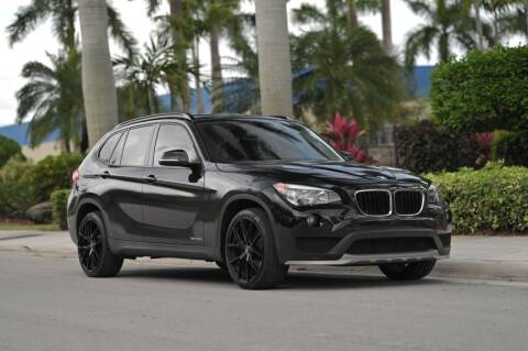 2015 BMW X1 for sale at EURO STABLE in Miami FL