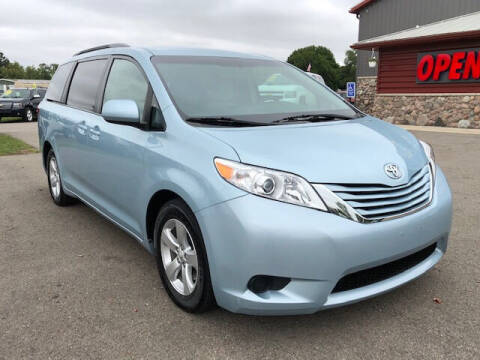 2015 Toyota Sienna for sale at Elvis Auto Sales LLC in Grand Rapids MI
