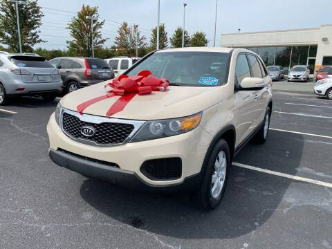 2011 Kia Sorento for sale at Charlotte Auto Group, Inc in Monroe NC