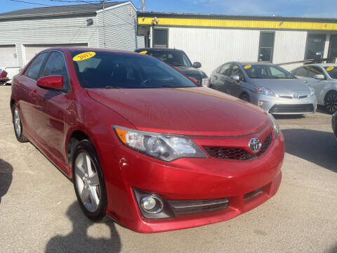 2012 Toyota Camry for sale at Unique Auto Group in Indianapolis IN