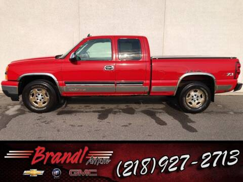 2006 Chevrolet Silverado 1500 for sale at Brandl GM in Aitkin MN