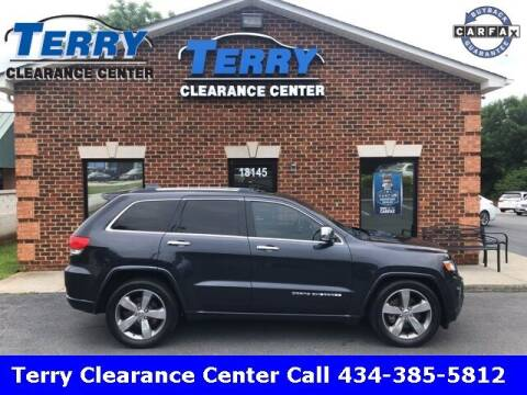 2014 Jeep Grand Cherokee for sale at Terry Clearance Center in Lynchburg VA