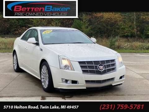 2010 Cadillac CTS for sale at Betten Baker Preowned Center in Twin Lake MI