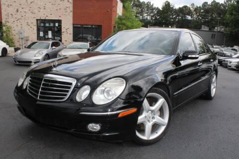 2009 Mercedes-Benz E-Class for sale at Atlanta Unique Auto Sales in Norcross GA
