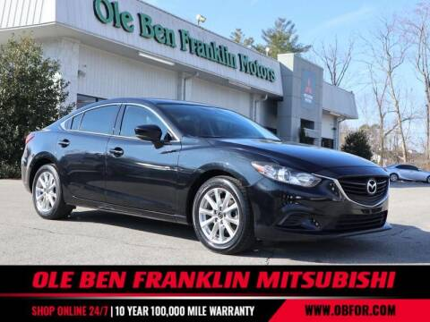 2017 Mazda MAZDA6 for sale at Ole Ben Franklin Mitsbishi in Oak Ridge TN