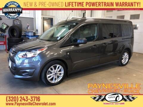 2018 Ford Transit Connect Wagon for sale at Paynesville Chevrolet - Buick in Paynesville MN
