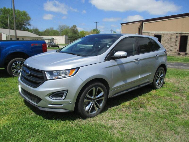 2015 Ford Edge for sale at KW TRUCKING OF KS in Saint Paul KS