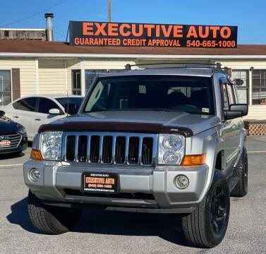 2010 Jeep Commander for sale at Executive Auto in Winchester VA
