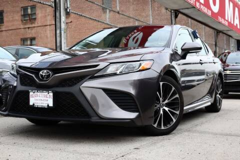 2018 Toyota Camry for sale at HILLSIDE AUTO MALL INC in Jamaica NY