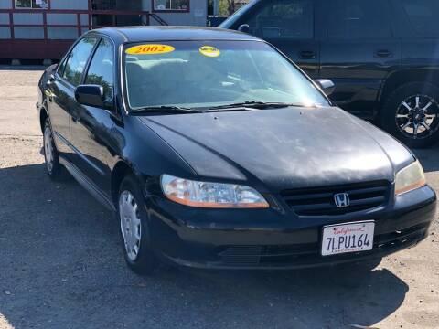 2002 Honda Accord for sale at Victory Auto Sales in Stockton CA