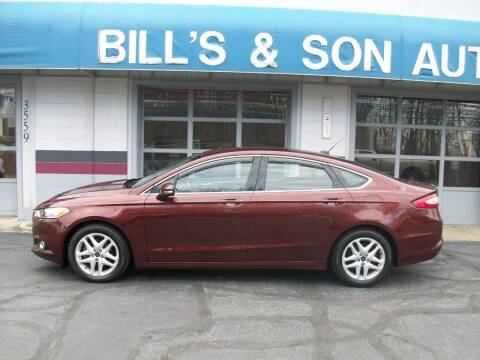 2015 Ford Fusion for sale at Bill's & Son Auto/Truck Inc in Ravenna OH