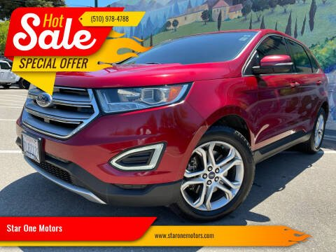 2015 Ford Edge for sale at Star One Motors in Hayward CA