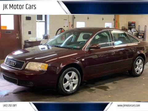2004 Audi A6 for sale at JK Motor Cars in Pittsburgh PA
