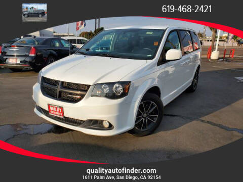 2018 Dodge Grand Caravan for sale at QUALITY AUTO FINDER in San Diego CA