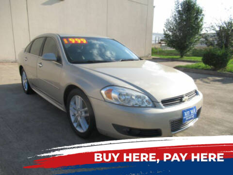 2010 Chevrolet Impala for sale at AUTO VALUE FINANCE INC in Stafford TX