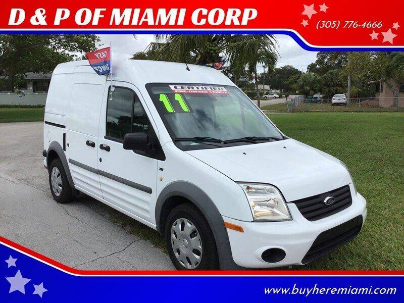 2011 Ford Transit Connect for sale at D & P OF MIAMI CORP in Miami FL