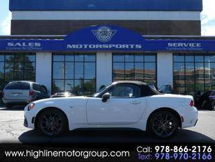 2017 FIAT 124 Spider for sale at Highline Group Motorsports in Lowell MA