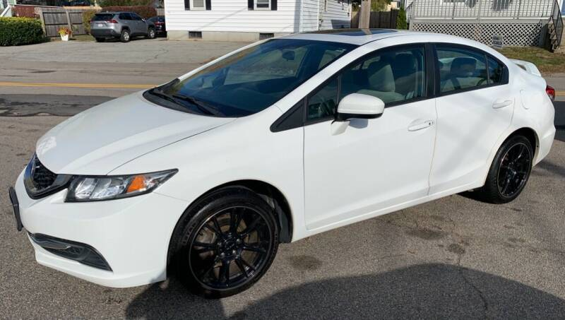 2014 Honda Civic for sale at Ultra Auto Center in North Attleboro MA