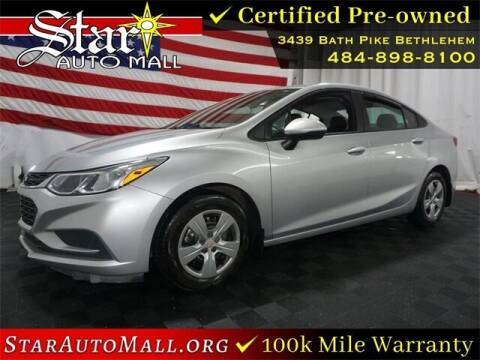 2017 Chevrolet Cruze for sale at STAR AUTO MALL 512 in Bethlehem PA