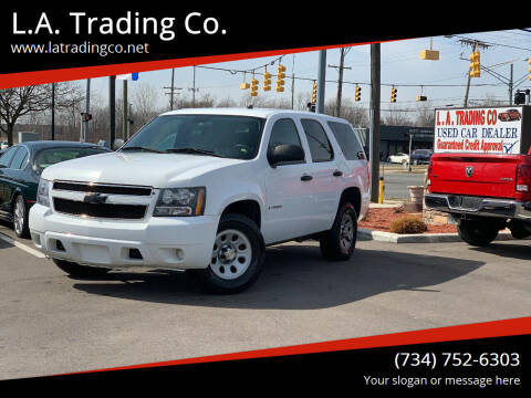 2009 Chevrolet Tahoe for sale at L.A. Trading Co. in Woodhaven MI