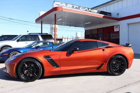2016 Chevrolet Corvette for sale at FAST LANE AUTO SALES in San Antonio TX