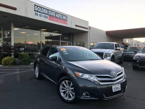 2014 Toyota Venza for sale at Golden State Auto Inc. in Rancho Cordova CA