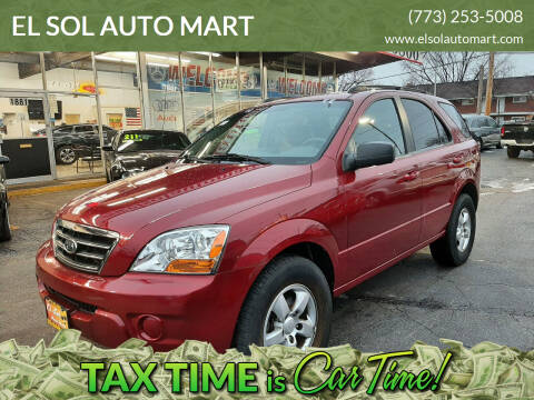 2008 Kia Sorento for sale at EL SOL AUTO MART in Franklin Park IL