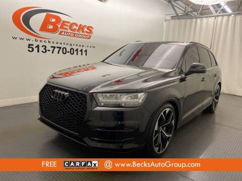 2017 Audi Q7 for sale at Becks Auto Group in Mason OH
