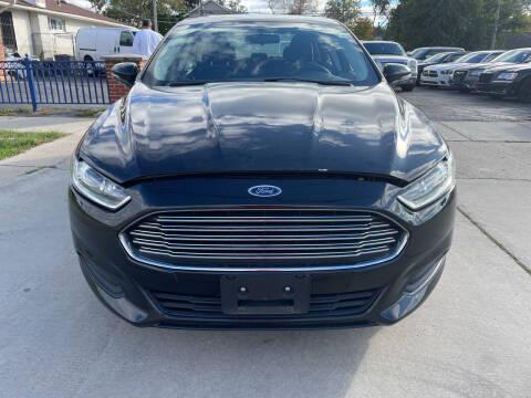 2014 Ford Fusion for sale at All Starz Auto Center Inc in Redford MI