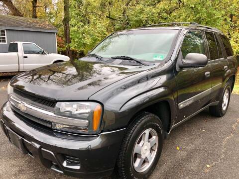 2004 Chevrolet TrailBlazer for sale at Perfect Choice Auto in Trenton NJ