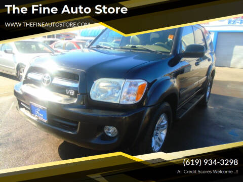 2005 Toyota Sequoia for sale at The Fine Auto Store in Imperial Beach CA